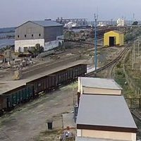 Port Kavkaz freight railway webcam