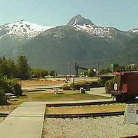 White Pass Yukon Skagway Railroad webcam