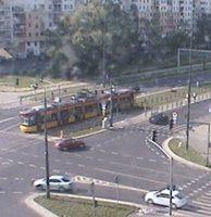 Tramwaje Warsaw Bemowo tramway webcam