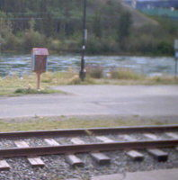 Whitehorse Railroad Yukon webcam