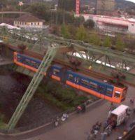 Wuppertal Schwebebahn Suspension webcam