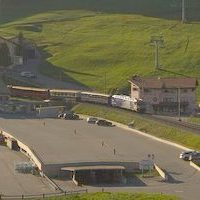 Bahnhof Celerina Railway Station Webcam