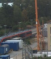 Bahnhof Nuremberg Nordost Railway station webcam