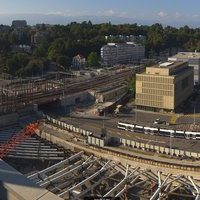Gare de Geneva Lancy Pont Rouge railway webcam