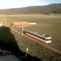 Bahn La Sagne Railway webcam