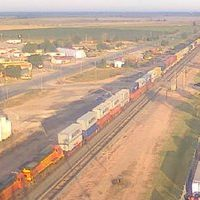 Shallowater Railroad webcam