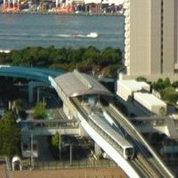 Toky Daiba Light Rail Station webcam