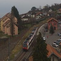 Chexbres Railway Station webcam