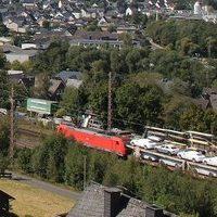 Bahn Niederdielfen Railway webcam