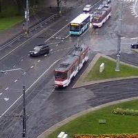 Trammiliiklus Tallinnas Tallinn Tram webcam