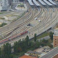 Hauptbahnhof Wien Vienna Main Railway Station webcam