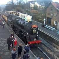 Grosmont Railway Station North York Moors Railway webcam