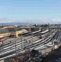 Hauptbahnhof Klagenfurt Railway Station webcam