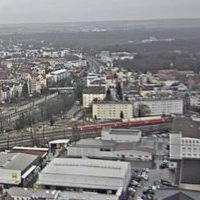Bahn Augsburg Railway webcam
