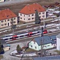 Bahnhof Schladming bahn railway station webcam