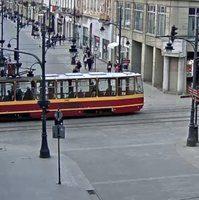 Tramwaje Lodz Tramway webcam