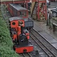 Rudyard Lake Railway Station webcam