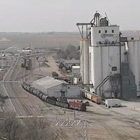 Aurora Nebraska Freight Railroad webcam