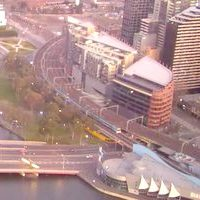 Melbourne City Railway & Tramway webcam