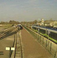 Gare de Noyelles Baie de la Somme Railway webcam
