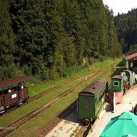 Bieszczadzka Railway Station webcam