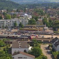 Bahnhof Lenzburg Railway Station webcam