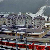 Bahnhof Engelberg Railway Station webcam