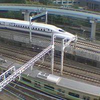 Tokyo Shiodome Yurikamome Railway webcam