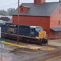 Bangor Michigan Railroad webcam