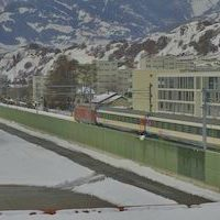 Bahn Sion Railway webcam